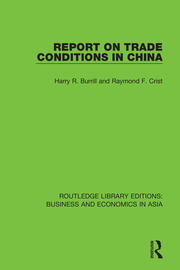 Report on Trade Conditions in China