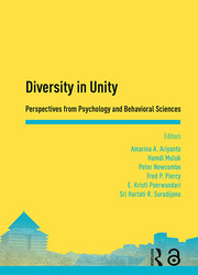 Diversity in Unity: Perspectives from Psychology and Behavioral Sciences: Proceedings of the Asia-Pacific Research in Social Sciences and Humanities, Depok, Indonesia, November 7-9, 2016: Topics in Psychology and Behavioral Sciences