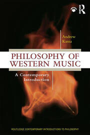 Philosophy of Western Music: A Contemporary Introduction