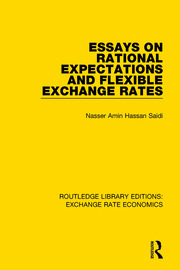 Essays on Rational Expectations and Flexible Exchange Rates