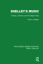 Shelley's Music: Fantasy, Authority and the Object Voice