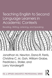 Teaching English to Second Language Learners in Academic Contexts: Reading, Writing, Listening, and Speaking