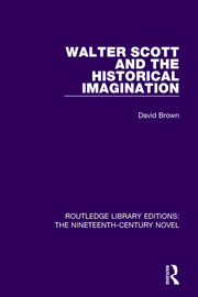 Walter Scott and the Historical Imagination