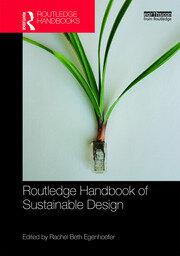 Routledge Handbook of Sustainable Design Egenhoefer