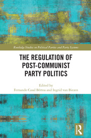 The Regulation of Post-Communist Party Politics