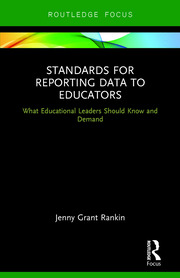 Standards for Reporting Data to Educators - 1st Edition book cover