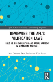 Reviewing the AFL's Vilification Laws: Rule 35, Reconciliation and Racial Harmony in Australian Football