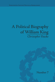 A Political Biography of William King
