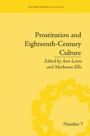 Prostitution and Eighteenth-Century Culture: Sex, Commerce and Morality