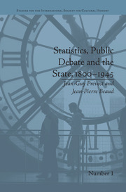 Statistics, Public Debate and the State, 1800–1945: A Social, Political and Intellectual History of Numbers