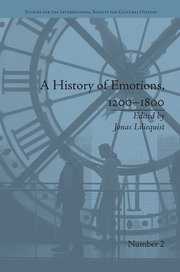 A History of Emotions, 1200–1800