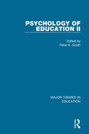 Smith: Psychology of Education II (4-vol. set)
