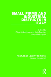 Small Firms and Industrial Districts in Italy