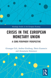 Crisis in the European Monetary Union: A Core-Periphery Perspective