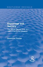 Espionage and Secrecy (Rev)