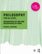 Philosophy for A Level - Lacewing 2017 - 1st Edition book cover
