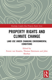 Property Rights and Climate Change - van Straalen - 1st Edition book cover