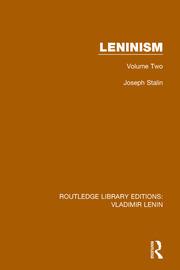 Leninism: Volume Two