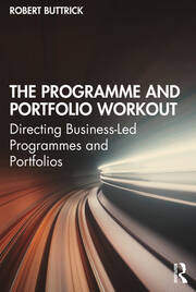 Featured Title - Programme and Portfolio Workout - Buttrick - 1st Edition book cover