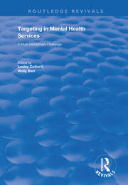 Targeting in Mental Health Services