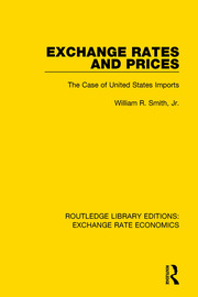 Exchange Rates and Prices: The Case of United States Imports