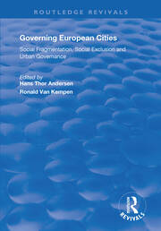 The New Urban Politics of Europe: The Area-based Approach to Regeneration Policy