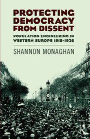 Featured Title - Democracy from Dissent: Monaghan - 1st Edition book cover