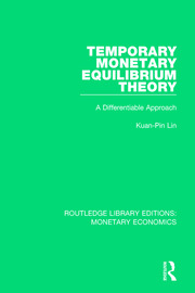 Temporary Monetary Equilibrium Theory: A Differentiable Approach