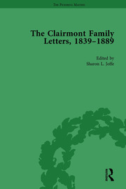 The Clairmont Family Letters, 1839 - 1889: Volume II