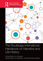 Featured Title - Routledge Handbook on Narrative Goodson - 1st Edition book cover