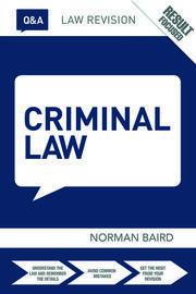 Q&A Criminal Law