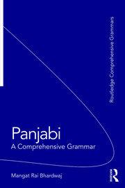 Panjabi: A Comprehensive Grammar