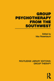 Routledge Library Editions: Group Therapy
