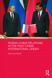 Featured Title - Russia-China Relations International Order – Kaczmarski - 1st Edition book cover
