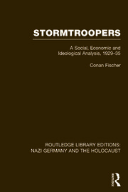 Routledge Library Editions: Nazi Germany and the Holocaust