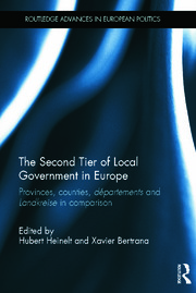 The Second Tier of Local Government in Europe: Provinces, Counties, Départements and Landkreise in Comparison