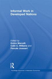Informal Work in Developed Nations: Marcelli et al RPD - 1st Edition book cover
