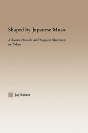 Shaped by Japanese Music: Kikuoka Hiroaki and Nagauta Shamisen in Tokyo