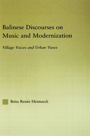 Balinese Discourses on Music and Modernization: Village Voices and Urban Views