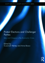 Protest Elections and Challenger Parties: Italy and Greece in the Economic Crisis