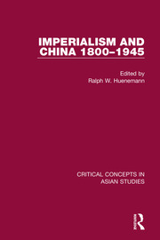 Imperialism and China 1800-1945 CC 4V