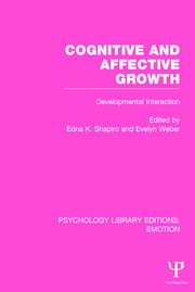 Cognitive and Affective Growth: Developmental Interaction