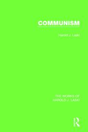 Communism (Works of Harold J. Laski)