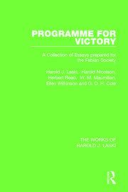 Programme for Victory (Works of Harold J. Laski)