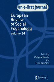 European Review of Social Psychology: Volume 24