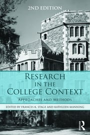 Research in the College Context - 1st Edition book cover