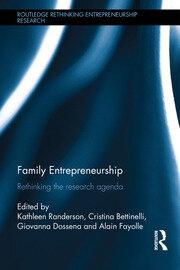 Family Entrepreneurship: Rethinking the research agenda
