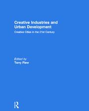 Creative Industries and Urban Development