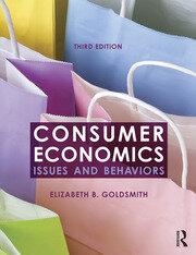 Featured Title - Consumer Economics 3e: Goldsmith - 1st Edition book cover