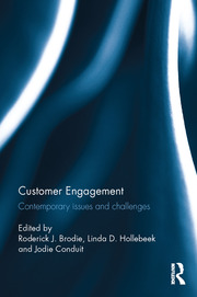Customer Engagement: Brodie - 1st Edition book cover